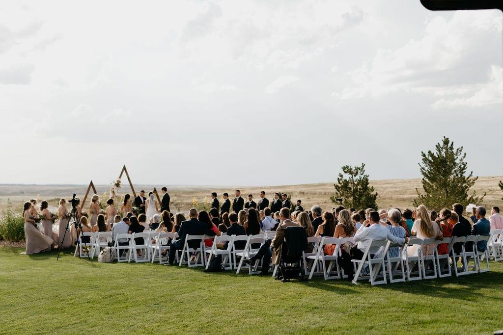 Wedding Ceremony at Bonnie Blues Wedding Venue