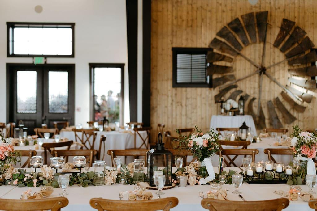 Beautiful Reception Details at Bonnie Blues Event Venue